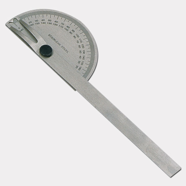 Steel Protractor with Round Head